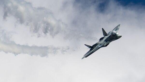 El caza ruso de quinta generación Su-57 - Sputnik France