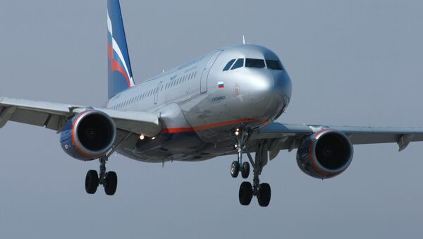 An Aeroflot Airlines Airbus A320 passenger airliner - Sputnik France