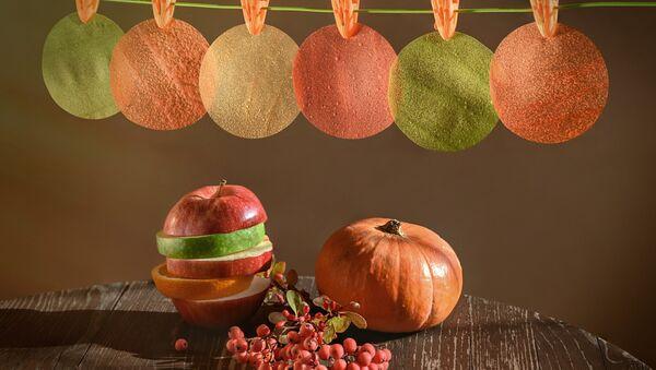 Les films comestibles, à la base de pomme, créés à l'Université de Samara - Sputnik France