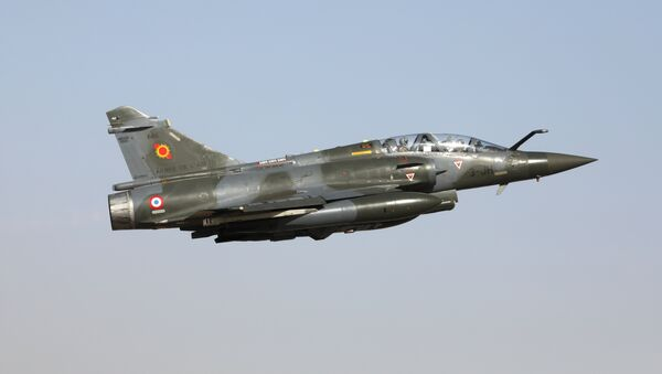 Un Mirage 2000D (image d'illustration) - Sputnik France