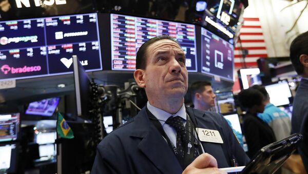 Un trader à New York - Sputnik France