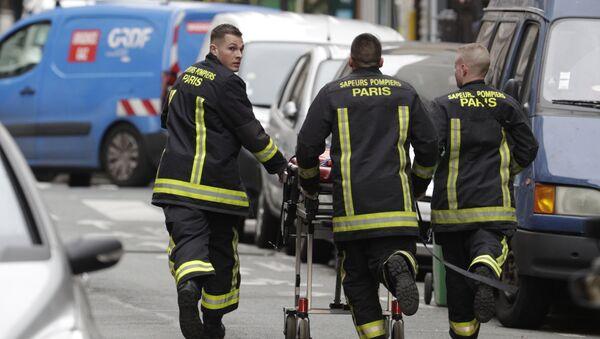 explosion rue de Trévise, dans le 9e arrondissement de Paris - Sputnik France