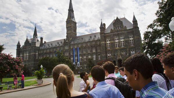 L'université de Georgetown - Sputnik France