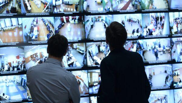 Les caméras de surveillance, image d'illustration  - Sputnik France