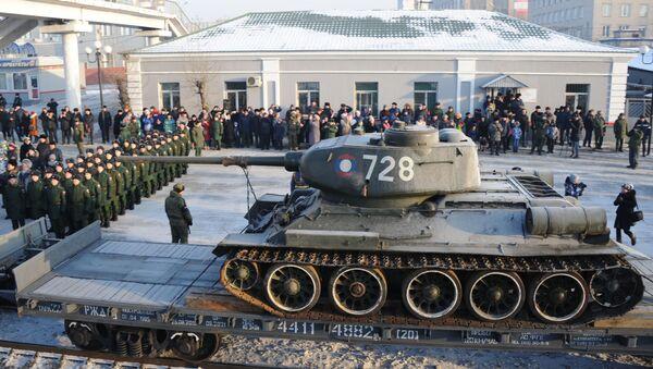 Le char T-34: retour à la Patrie - Sputnik France