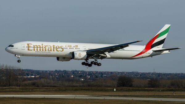 Un Boeing 777 d'Emirates - Sputnik France