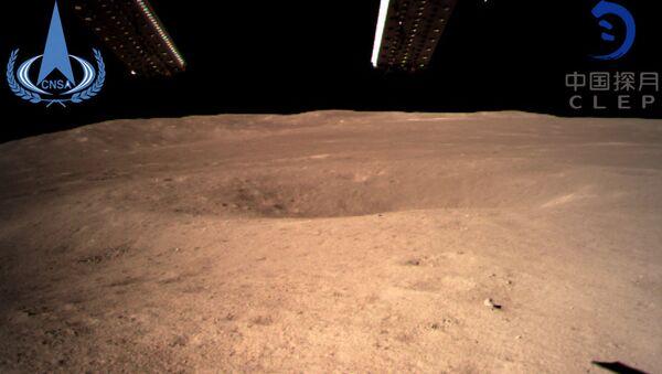 La première image de la face cachée de la Lune prise par la sonde chinoise Chang'e 4 - Sputnik France