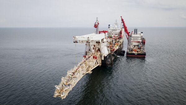 La construction du Nord Stream 2  - Sputnik France