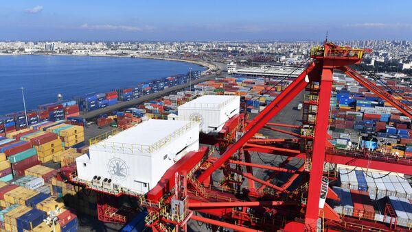 Le port maritime de Lattaquié en Syrie - Sputnik France