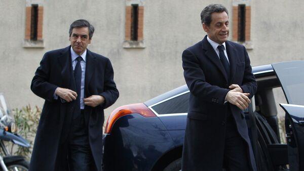 Nicolas Sarkozy et Francois Fillon - Sputnik France