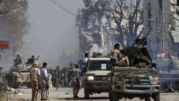 Soldats de l'Armée nationale libyenne (ANL) à Benghazi (photo d'archives ) - Sputnik France