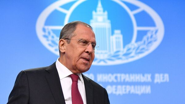 La première grande conférence de presse annuelle de Sergueï Lavrov - Sputnik France