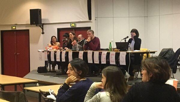 L'assemblée des Stylos rouges à Créteil le 16 janvier 2019. - Sputnik France