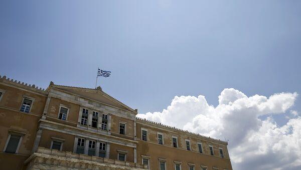 Parlement grec à Athènes - Sputnik France