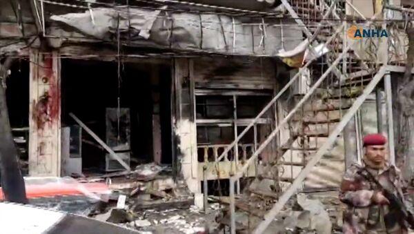 Le site de l'explosion à Manbij - Sputnik France