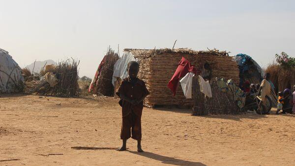Dans un camp des déplacés Mémé, Extrême-Nord du Cameroun - Sputnik France