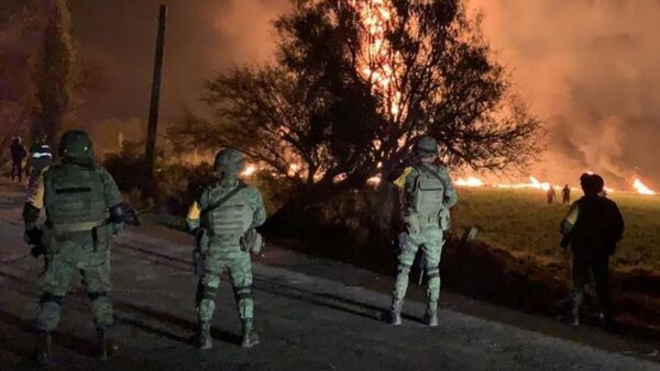 Explosion d'un oléoduc au Mexique - Sputnik France