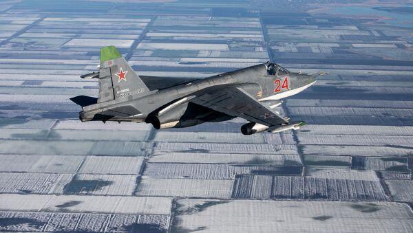 Manœuvres tactiques avec la participation des Su-25SM3 au Kouban - Sputnik France