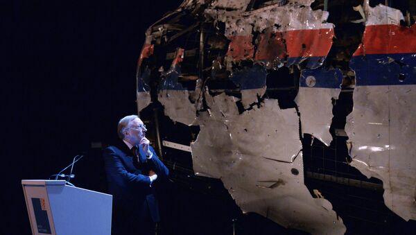 Crash du Boeing 777 de la Malaysia Airlines - Sputnik France