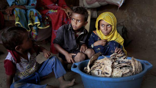 Des enfants au Yémen (image d'illustration) - Sputnik France