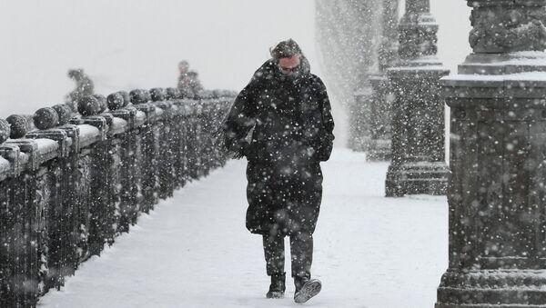 Moscou sous un manteau de neige - Sputnik France