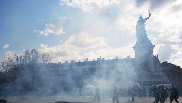 La place de la République à Paris (image d'archives) - Sputnik France