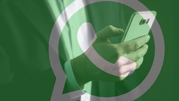 El logo de WhatsApp - Sputnik France