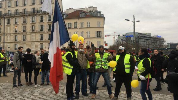 Acte 9: Gilets jaunes à Paris le 12 janvier 2019 - Sputnik France