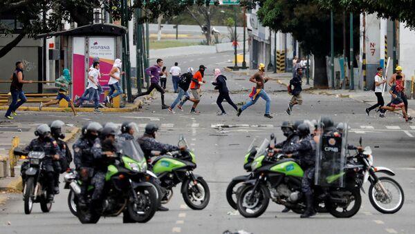 Troubles à Caracas - Sputnik France