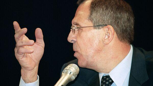 Sergueï Lavrov - Sputnik France