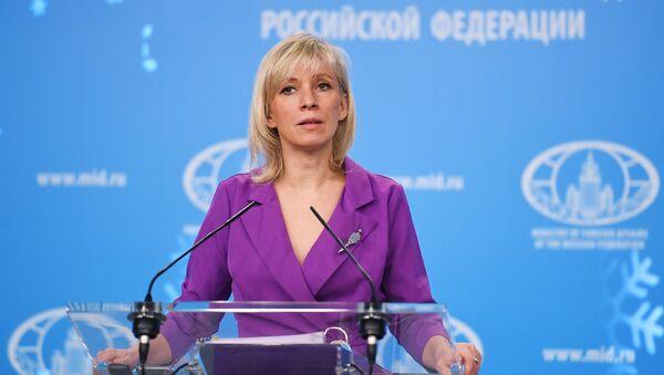 Maria Zakharova, porte-parole de la diplomatie russe - Sputnik France
