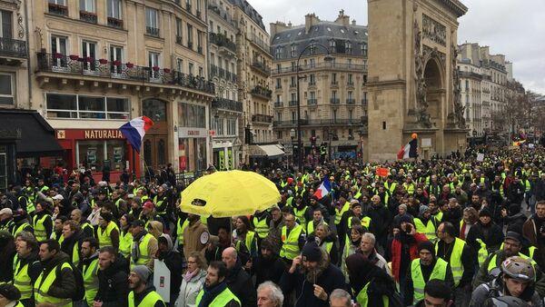 Acte 11 de Gilets jaunes à Paris, le 26 janvier 2019 - Sputnik France
