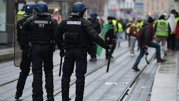 Un rassemblement de Gilets jaunes à Strasbourg, le 12 janvier 2019 - Sputnik France