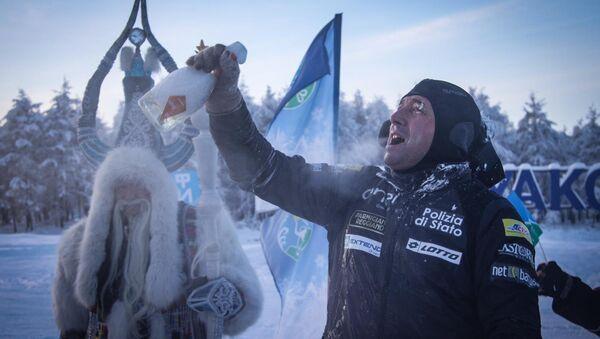 Paolo Venturini, marathonien italien en Sibérie - Sputnik France