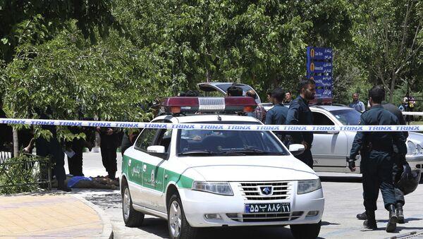 Police iranienne (image d'illustration) - Sputnik France