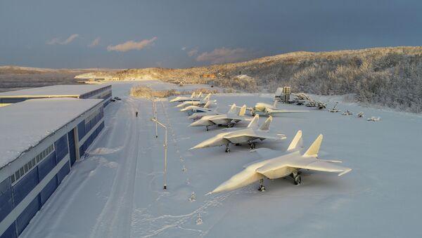 Le Musée des forces aériennes de la flotte du Nord - Sputnik France