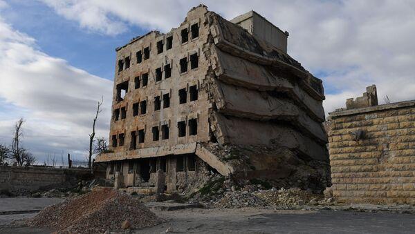 Bâtiments détruits dans la région d'Alep - Sputnik France