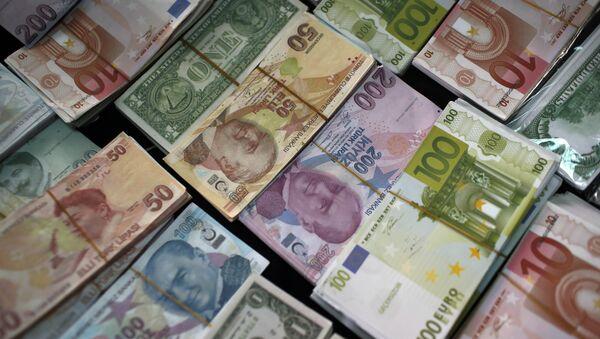 Billets de banque (image d'illustration) - Sputnik France