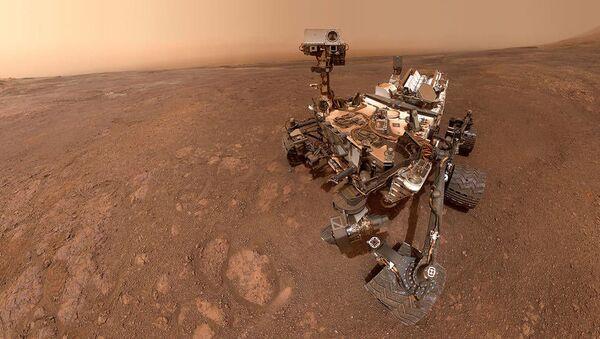 Le robot Curiosity de la Nasa sur Mars  - Sputnik France