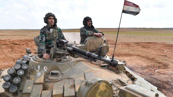 Avancée de l'armée syrienne à Manbij, au nord-est d'Alep - Sputnik France