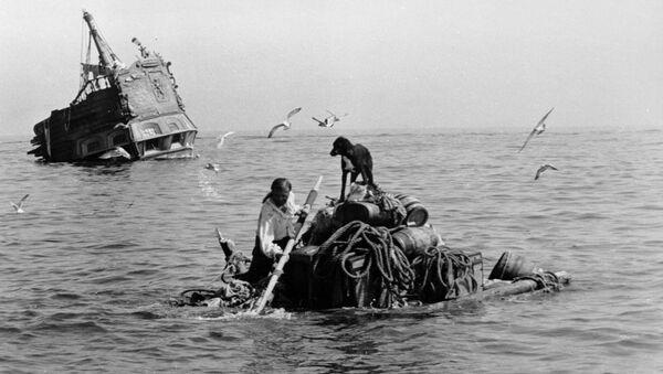 Image du film soviétique Vie et aventures de Robinson Crusoé de 1972 - Sputnik France