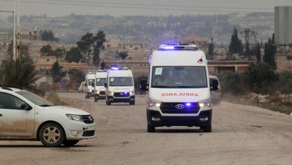 Ambulances, Syrie - Sputnik France