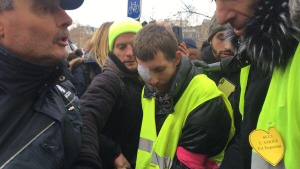 L'acte 12 à Paris de Gilets jaunes, le 2 février 2019 - Sputnik France
