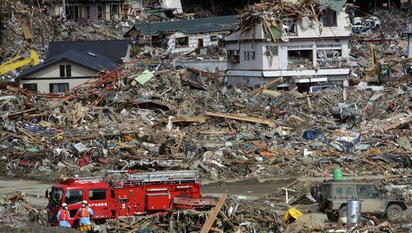 Conséquences du tsunami de 2011 au Japon - Sputnik France