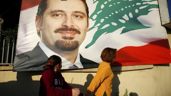 Saad Hariri, Premier ministre du Liban - Sputnik France