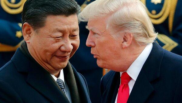 Xi Jinping et Donald Trump - Sputnik France