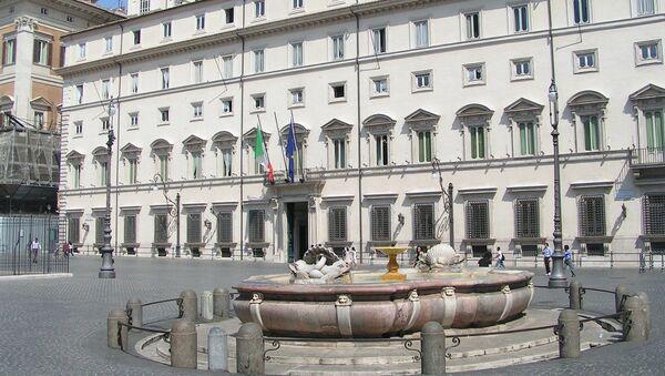 Le palais Chigi, siège de la présidence du Conseil des ministres italien - Sputnik France