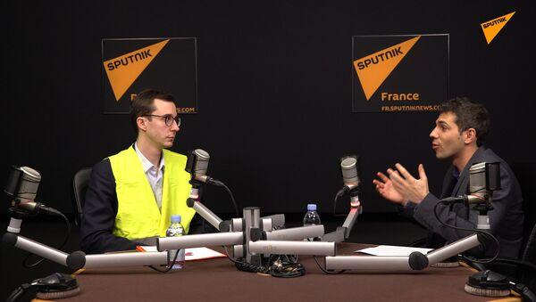 Sputnik France a reçu François Boulo, porte-parole des Gilets jaunes à Rouen - Sputnik France