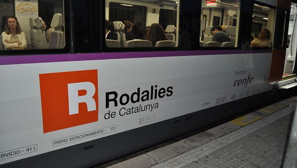 Un train du réseau Rodalies de Catalogne - Sputnik France