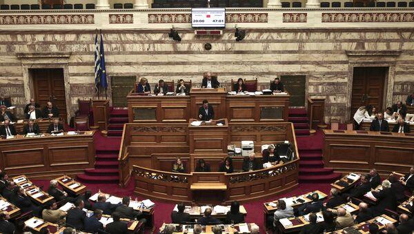 Parlement grec (archive photo) - Sputnik France